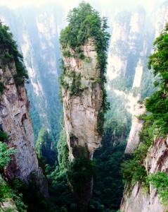 Parque Nacional Forestal de Zhangjiajie. Foto: Ryk_J