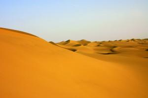 Desierto Taklamakan. Autor: Prashant Ram, vía Flickr